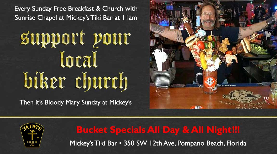 Bloody Mary Sunday's at Mickeys