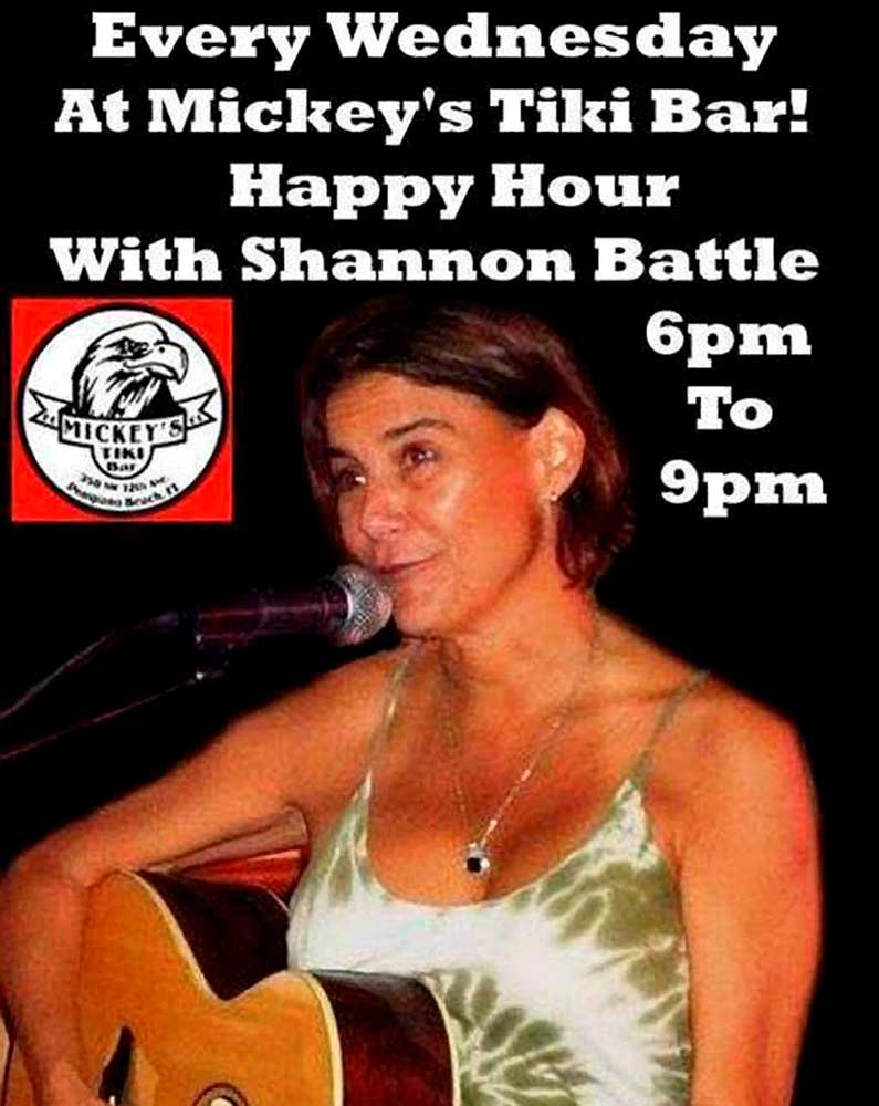 Happy Hour With Shannon Battle
