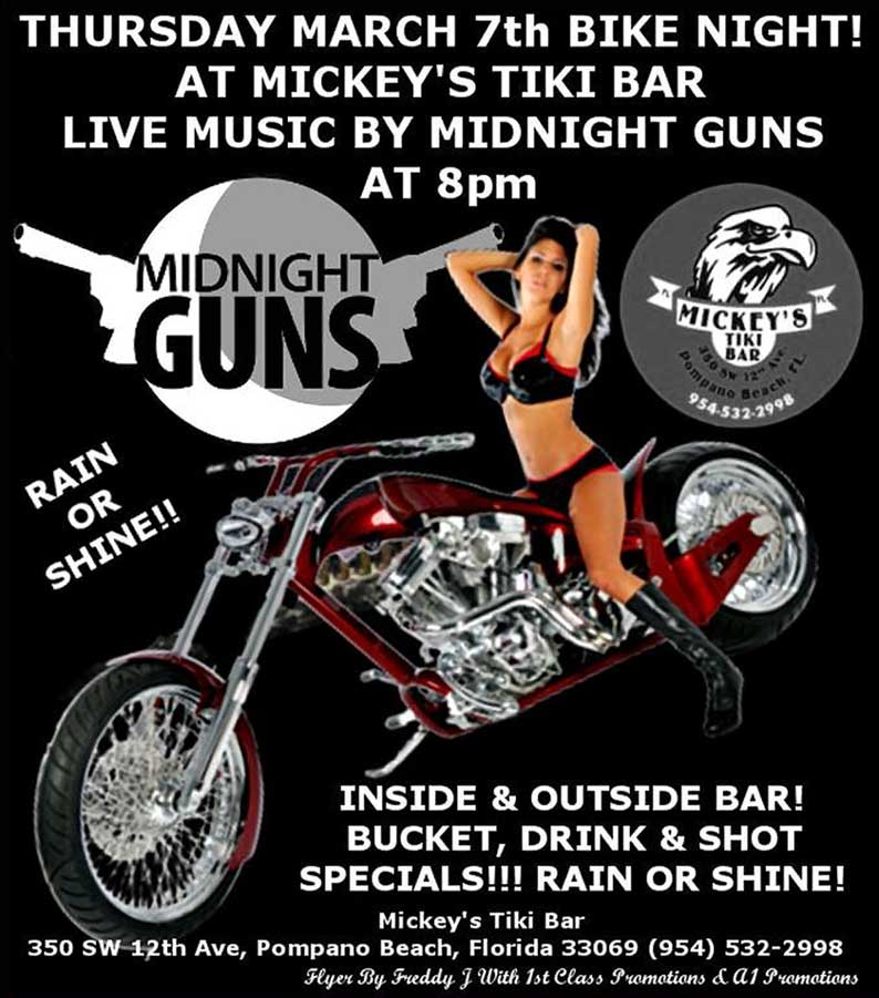 Midnight Guns Live at Mickey's