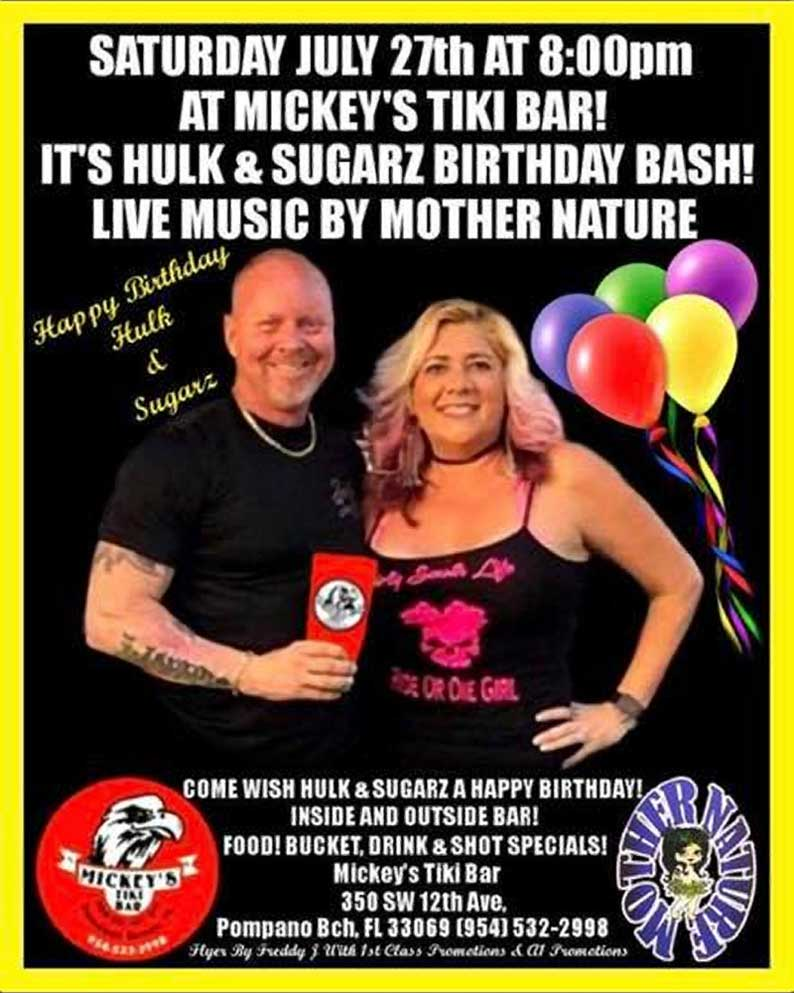 Hulk & Sugarz Birthday Bash